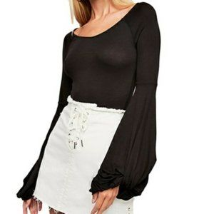 Free People To The Tropics Rayon Top Small NWT